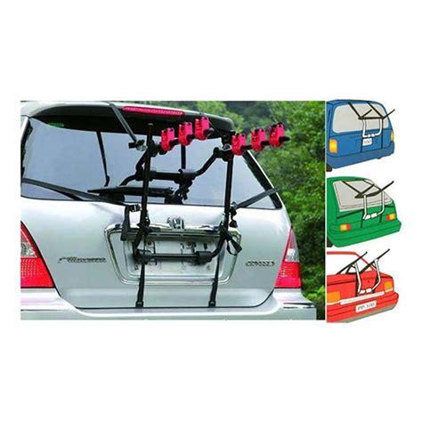 porta bici per auto portabici posteriore auto universale a 3 bici