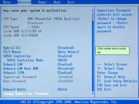 reset bios graphic card disable onoard graphics card for p6210y hp support forum