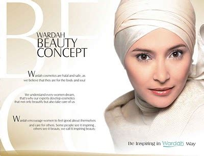 Lipstick Magazine Indonesia inspiring a critique of wardah cosmetics ad caigns