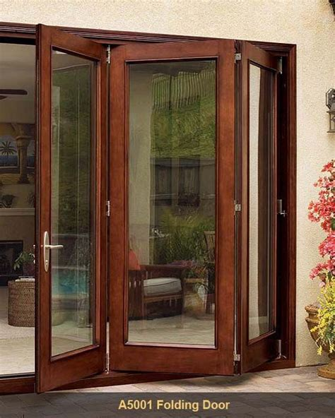 Patio Accordion Doors Jeld Wen A5001 Folding Patio Door What I Want In The Room Going To Deck Outdoors Must