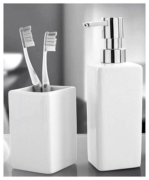contemporary bathroom accessories luxury porcelain bathroom accessories set 2 pieces