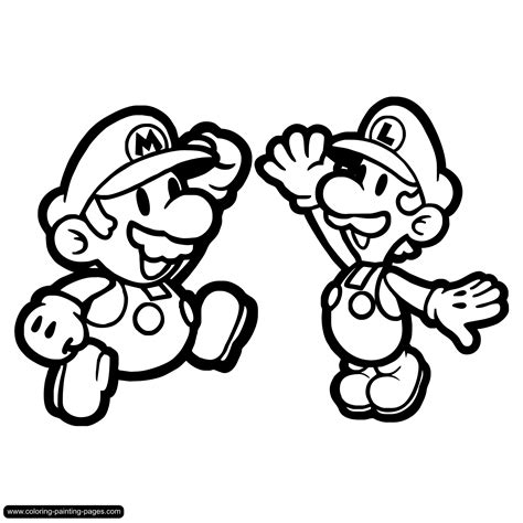 mario coloring pages online free mario bros coloring pages to download and print for free
