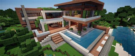 moderne villa minecraft modern villa v 1 8 maps mod f 252 r minecraft