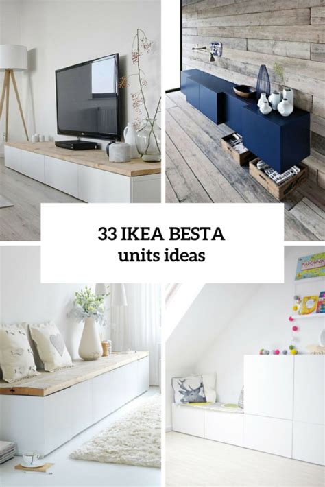 ikea besta unit ideas 45 ways to use ikea besta units in home d 233 cor digsdigs