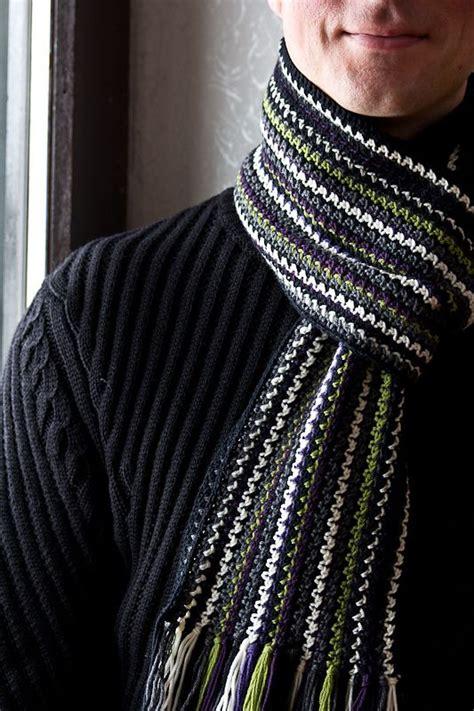 best 25 crochet mens scarf ideas on