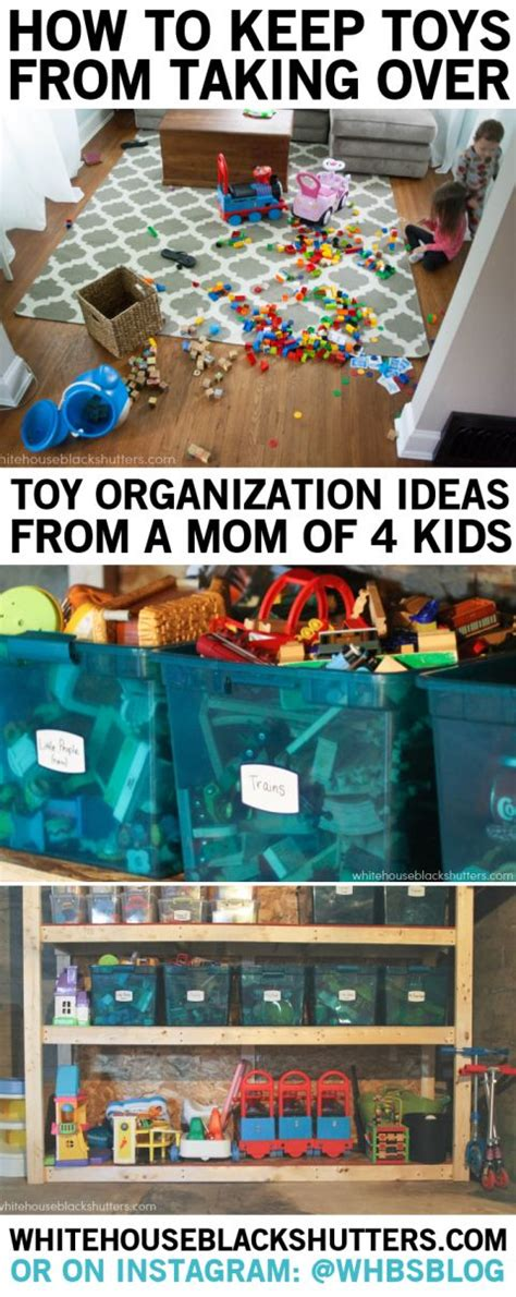 how to organize kids toys tips on toy organization and storage in a small home written by a mom of four young kids must