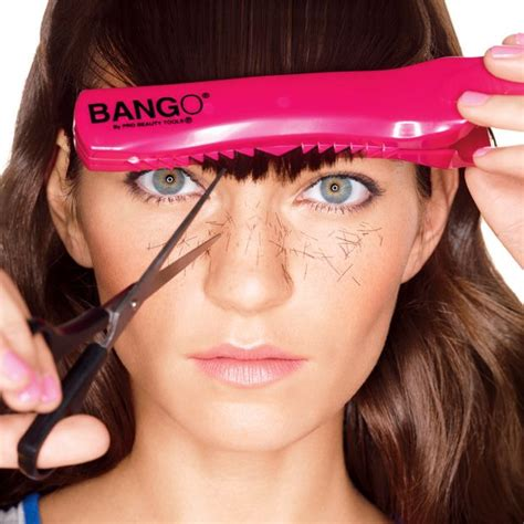 How To Trim Bangs At Home by How To Trim Your Own Bangs