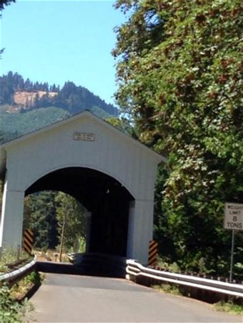 Cottage Grove Covered Bridge Tour Route by Dorena Covered Bridge Picture Of Cottage Grove Covered