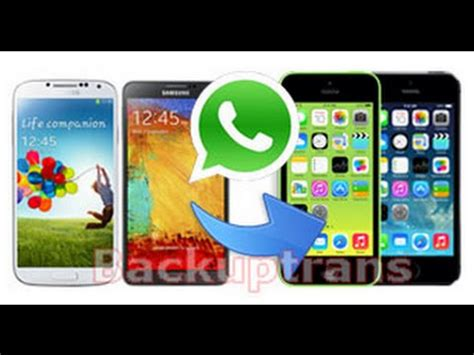 how to transfer whatsapp chats from android to iphone how to transfer whatsapp chats from android to iphone