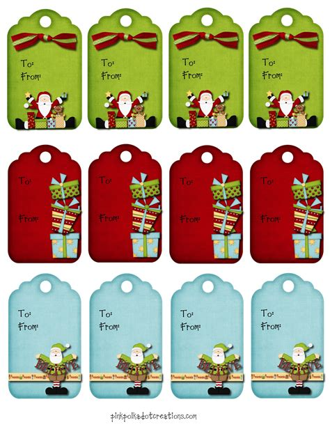 christmas tags archives pink polka dot creations