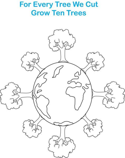 mother earth coloring page 17 best images about going green on pinterest earth day