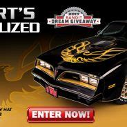 Trans Am Giveaway - dream giveaway sweepstakes win burt s trans am