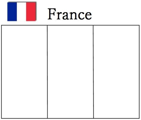 geography blog france flag coloring page