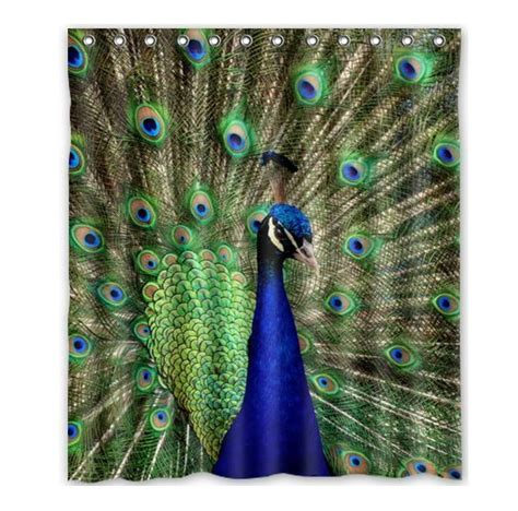 peacock drapes online get cheap peacock curtain fabric aliexpress com