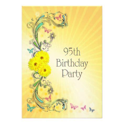 Happy Birthday Butterfly Invites 130 Happy Birthday Butterfly Invitation Templates 95th Birthday Invitation Templates