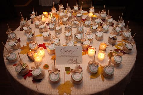 Wedding Favors For Fall by Fall Wedding Favors Decoration