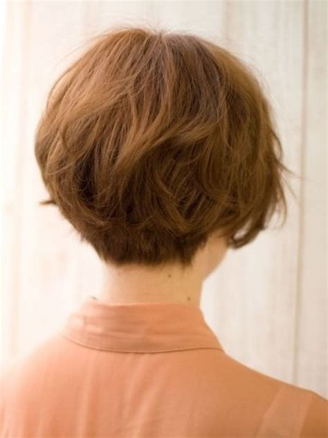 short hairstyles for women over 50 reverse wedge layered bob hairstyles back view hairstyles back view