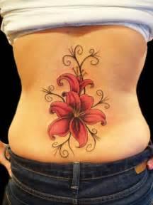 Back Flower Tattoos - 20 back tattoos for girls