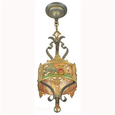 antique americana pendant ceiling light with