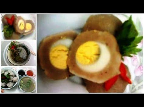 membuat bakso telur cara membuat bakso cara membuat bakso ayam isi telur