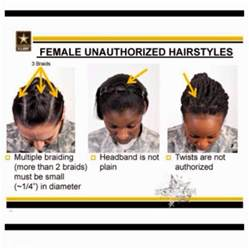 army hair regulations 670 1 are the new army changes ar 670 1 discriminatory to