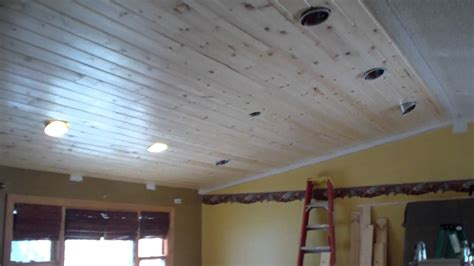 tongue and groove ceiling installation tongue groove pine ceiling installation