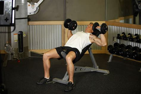 incline bench press exercise incline dumbbell press exercise guide and video