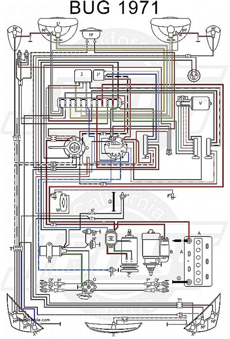 71 vw wiring diagram wiring diagram with description