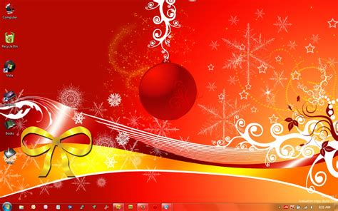 christmas themes download windows 7 christmas theme for windows 3 7 themepack download
