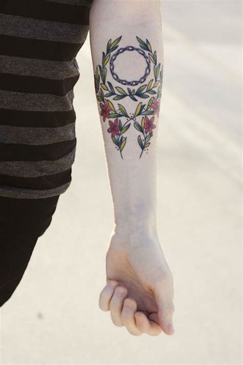 simple floral inner arm tattoo best tattoo design ideas 30 awesome inner forearm tattoo ideas sortra