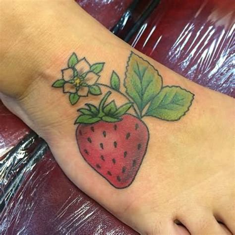 strawberry tattoos strawberry designs ideas and meaning tattoos for you