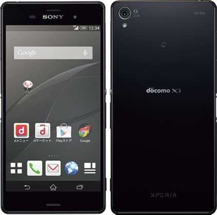 Docomo Xperia Z3 sony xperia z3 so 01g docomo so 01g phone