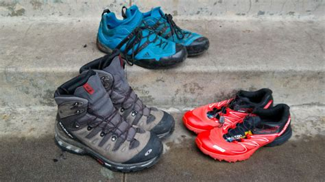 hiking shoes vs running shoes what s better for hiking boots vs trail runners vs
