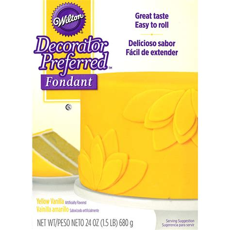 Promo Cake Decorator With 8pc Moulds decorator preferred 174 fondant yellow 24 ounces by wilton