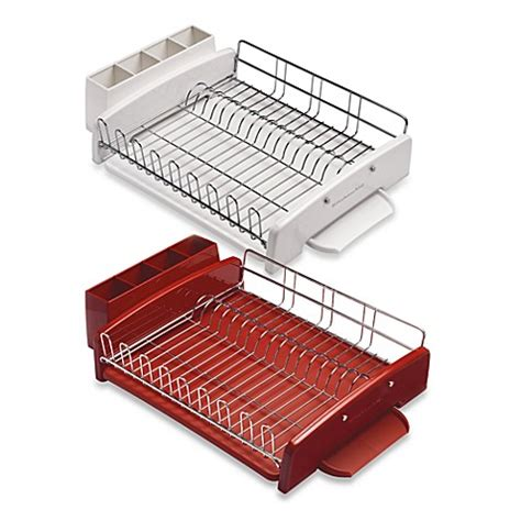 bed bath and beyond dish drying rack kitchenaid 174 dish rack bed bath beyond