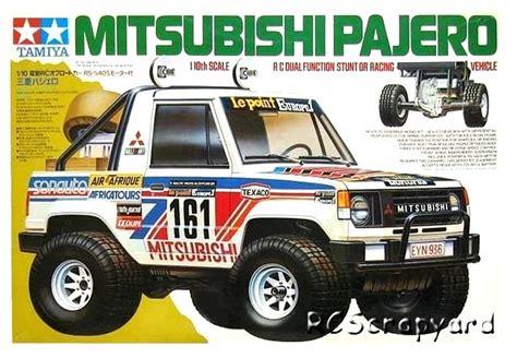 Tamiya Mitsubishi Pajero tamiya paj 233 ro a identifier rcmagvintage