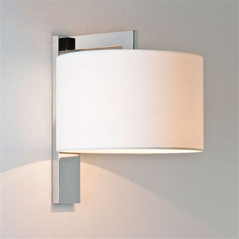 Brushed Chrome Wall Lights Astro Ravello Polished Chrome Wall Light At Uk Electrical
