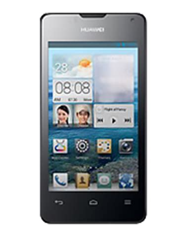 013041 Touchscreen Huawei Y300 Black huawei ascend y300 mobilestec