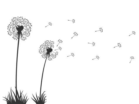 wandtattoo pusteblumen mit herzen m 228 dchenzimmer
