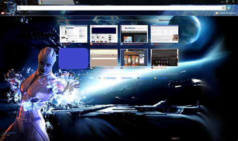 chrome themes don t fit me liara theme by lenimph on deviantart