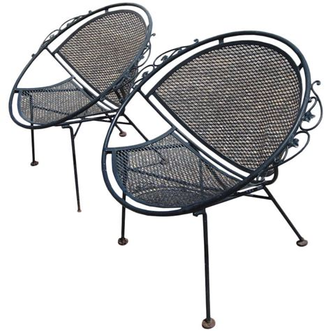 maurizio tempestini for salterini pair of clamshell chairs