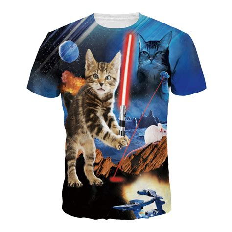8 Funniest Cat T Shirts by 2016 3d Printed T Shirts Animal Cat S T