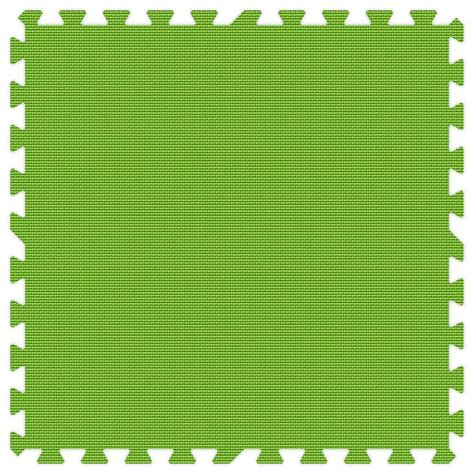 Lime Green Mat by Groovy Mats Lime Green 24 In X 24 In Comfortable Mat