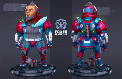 tutorial zbrush cartoon robots in zbrush cartoon exosuit by pierre rogers