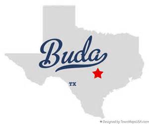 Buda Tx To Tx Map Of Buda Tx