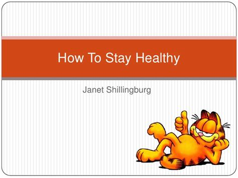 how to a to stay with you how to stay healthy