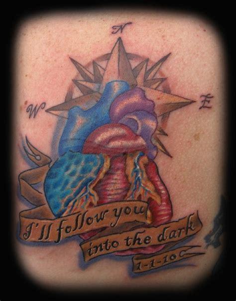 tattoo compass heart heart compass tattoo by diego tattoonow