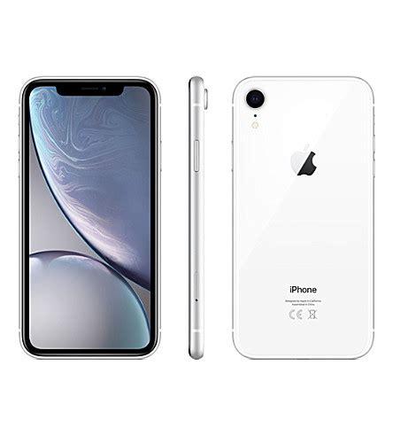 apple iphone xr 64gb white selfridges