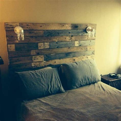headboard pallet 40 recycled diy pallet headboard ideas