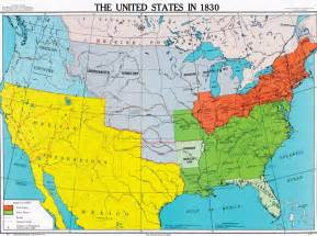 united states in 1830 u s history map